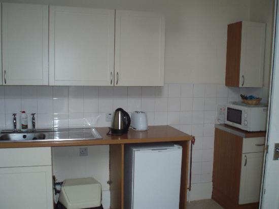 Shandwick Hotel & Apartments: la cucina