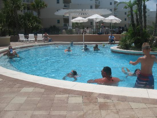 swimming pool, heated in cool weather - Picture of ...