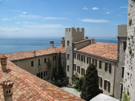 "Duino, Italy: The ""New"" Castle (built in 1400)"