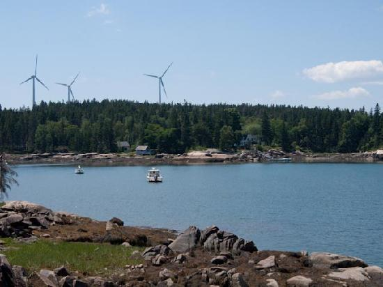 Vinalhaven, Μέιν: Fox Islands electricity turbines