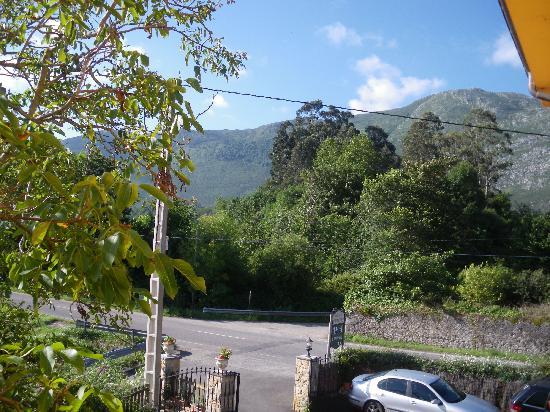 Hotel Camangu: vista desde la habitacion