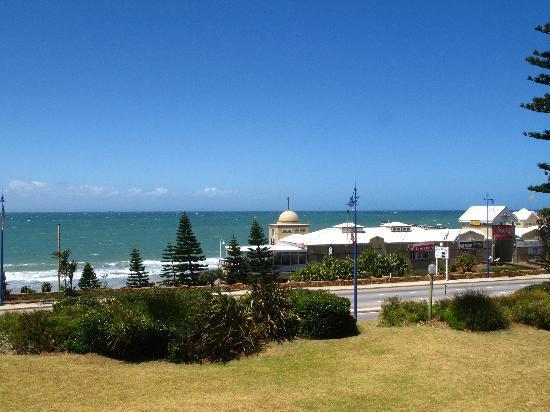Courtyard Hotel Port Elizabeth: Ausblick aus unserem Zimmer