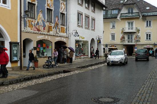 Mittenwald, Germany: 街並み