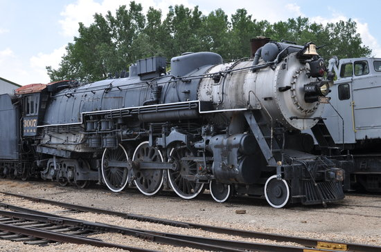 Illinois Railway Museum: Steam Engine #3007