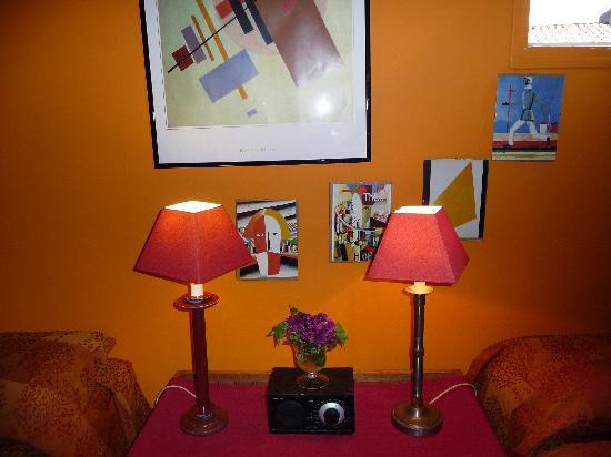 L'Ombre du Palais : Detail of our room