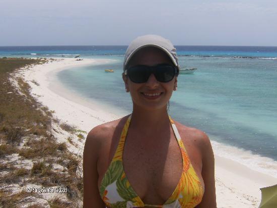 Posada La Langosta: pretty beach