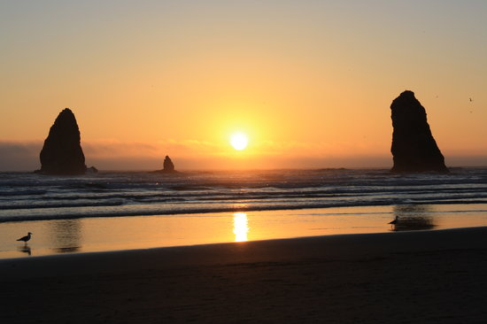 Cannon Beach, Oregón: Sunset