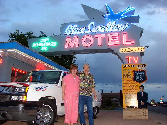 Blue Swallow Motel: Lost in the Fifties on Route 66