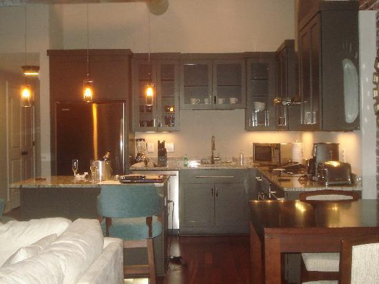 The Restoration: kitchen
