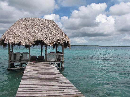 Villas Ecotucan: el muelle del hotel