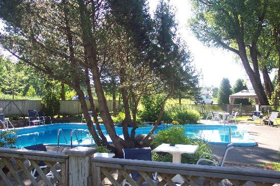 Hotel & Spa Etoile-sur-le-Lac: piscine chauffée 80 degrés celcius