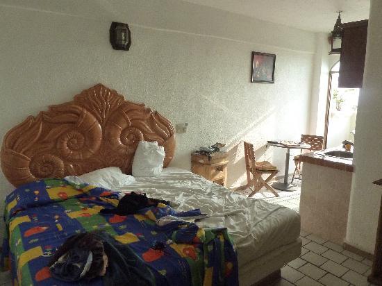 Paloma del Mar Hotel : Zimmer mit Meerblick