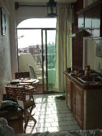 Paloma del Mar Hotel : Kochzeile