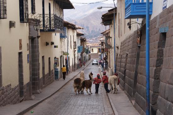 Cusco, Pérou : 路地