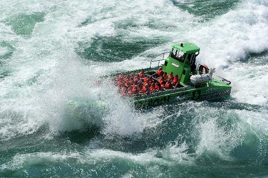 Whirlpool Jet Boat Tours: And that wasn't the big one