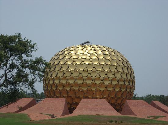 Pondicherry, India: Matri Mandir