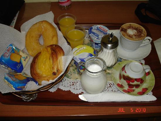 Hotel Maikol Rome: A yummy Breakfast