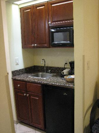 Holiday Inn Express Hotel & Suites Tucson Mall : Sink/cooking area
