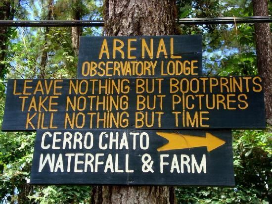 Nationalpark Vulkan Arenal, Costa Rica: the trail