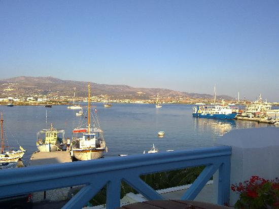 Mantalena Hotel: View from the terrasse during day