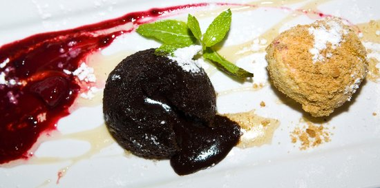 Bijou Bar and Bistro: Decadent Chocolate Fondant