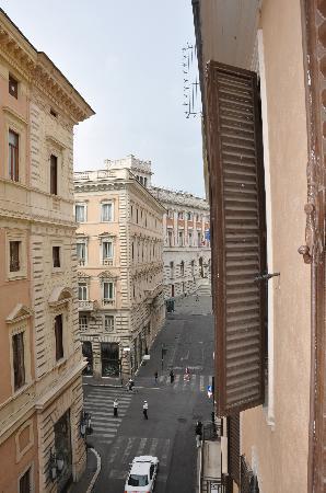 Hotel Parlamento: Blick aus unserem Fenster