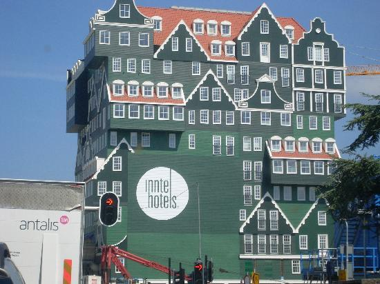 Inntel Hotels Amsterdam Zaandam: Hotel from the outside