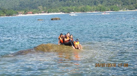 Palma Beach Resort: Snorkeling at Giam Island, 10 minutes boat trip from Palma Beach