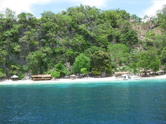 Coron, Filippinene: Banol Beach