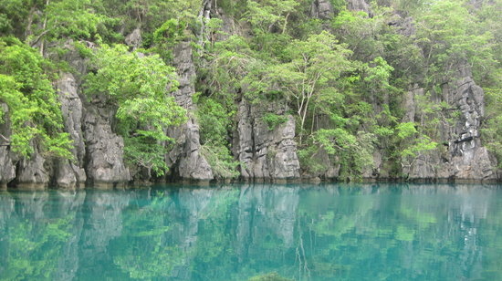 Coron, Filippinerna: Kayangan Lake