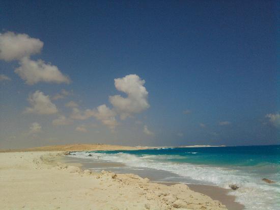 El Alamein, Αίγυπτος: il mare