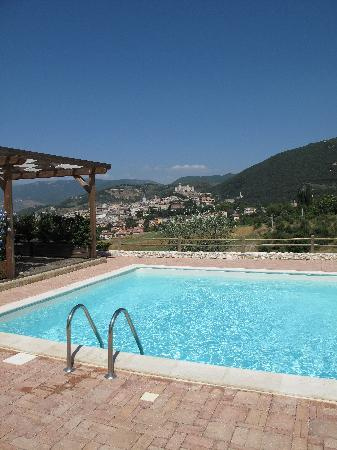 Il Sogno: The pool and the amazing view