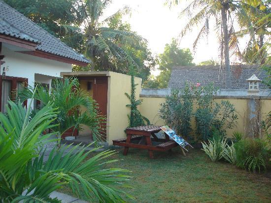 Aaliku Bungalows: View from room
