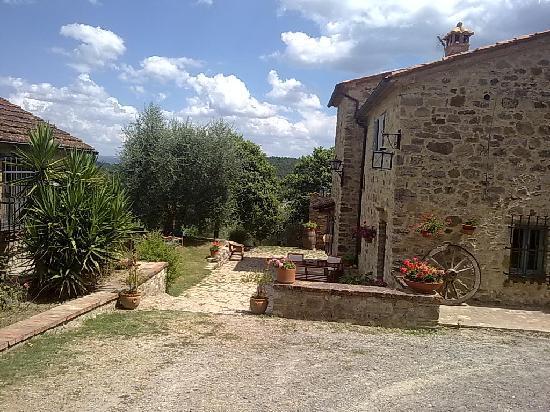 Сан-Кашано-дей-Баньи, Италия: parte della struttura