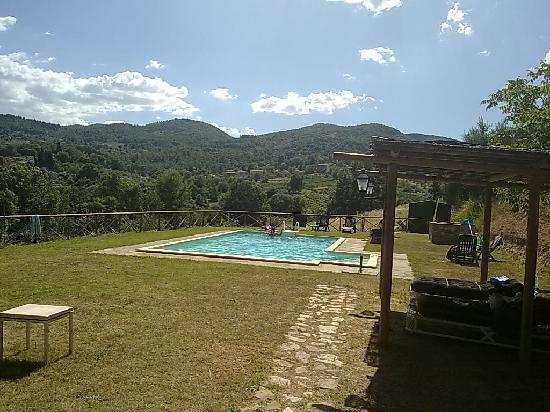 San Casciano dei Bagni, Italy: piscina
