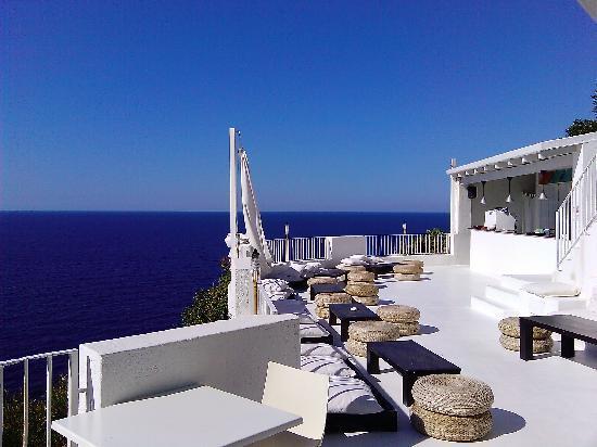 Malfa, Italia: La terrazza più romantica di Salina