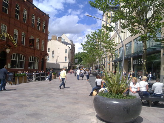 Cardiff, UK : The Hayes