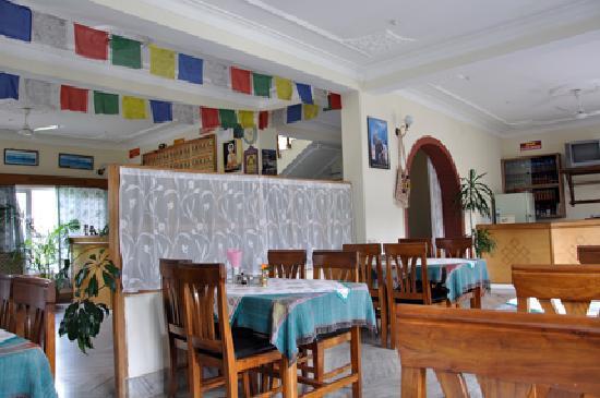 Green Tara Hotel: Restaurant