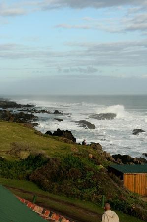 Storms River, Sydafrika: Aussicht vom Oceanette