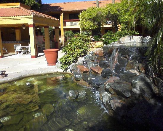American Inn & Suites Mesa: water feature bbq area