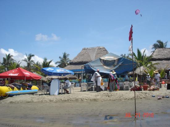Stone Island (Isla de las Piedras): A view of the restaurant.