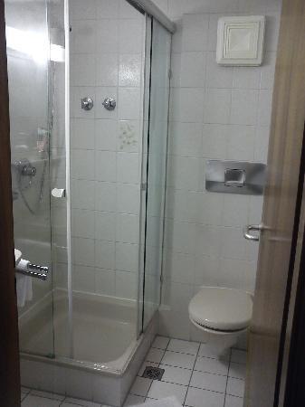 Schwanen Hotel: Badezimmer