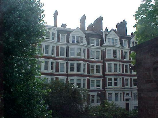 Regency House Hotel: vista desde la ventana