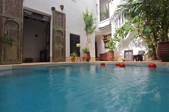 Riad Tawanza: Le patio du riad