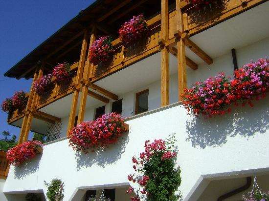 Hotel Mair am Bach: Cascata di fiori