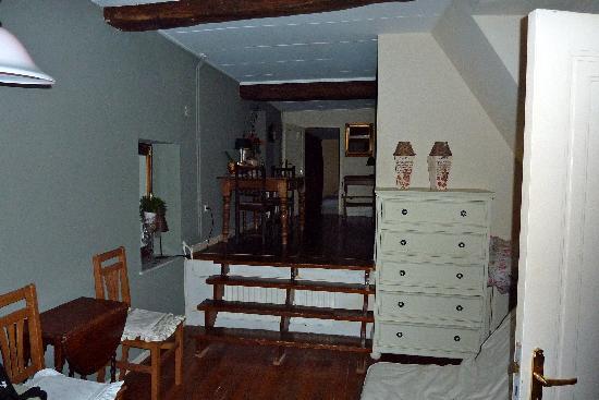 Hotel Valkenhof: a small part of huge room