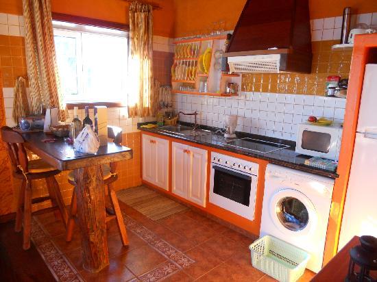 Villas Abuelito Francisco : Küche