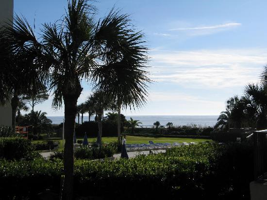 Beach Club at St. Simons: View from our unit