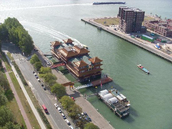 New Ocean Paradise: Hotel vom Euromast aus