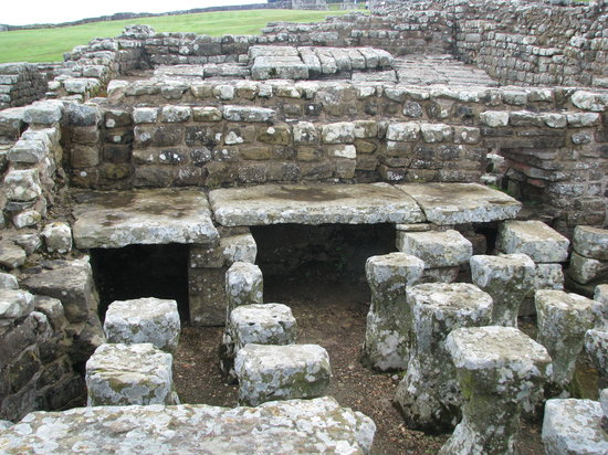 Haydon Bridge, UK: Roman ruins at Housesteads